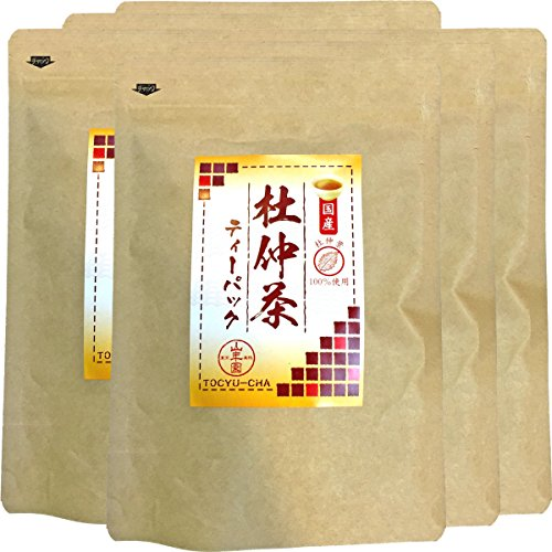 Japanese Tea Shop Yamaneen Eucommia Ulmoides-Tea Without Agricultural Chemicals Made In Kagoshima 60G x 6packs by Japanese Tea Shop Yamaneen