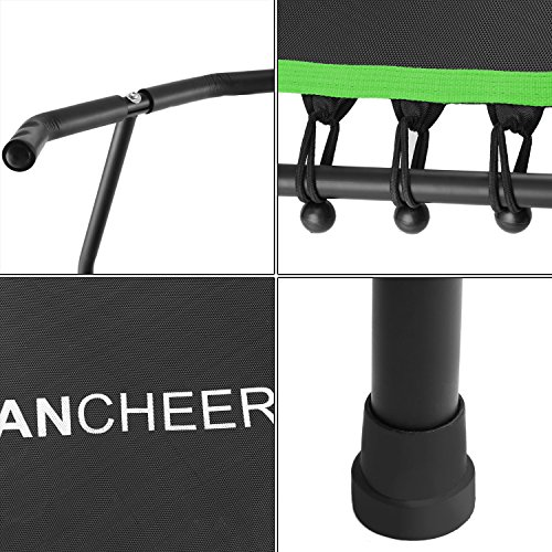 Ancheer Mini Rebounder Trampoline With Handle Safe Fitness
