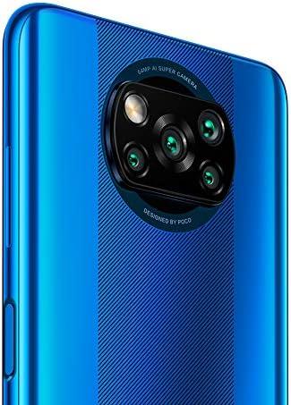 "Xiaomi Poco X3 NFC 64GB, 6GB RAM, 5160mAh (typ) Large Battery, 6.67"" DotDisplay, QUALCOMM Snapdragon GSM LTE Factory Unlocked Smartphone - International Version (Cobalt Blue) WeeklyReviewer"