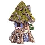 Evergreen Enterprises, Inc Solar Tree Trunk Fairy House with Hammock for Miniature Garden, Fairy Garden Review