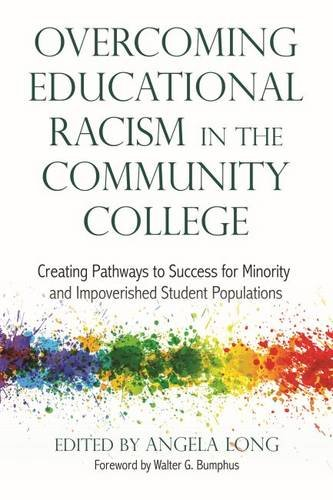 Check expert advices for racism in community colleges?
