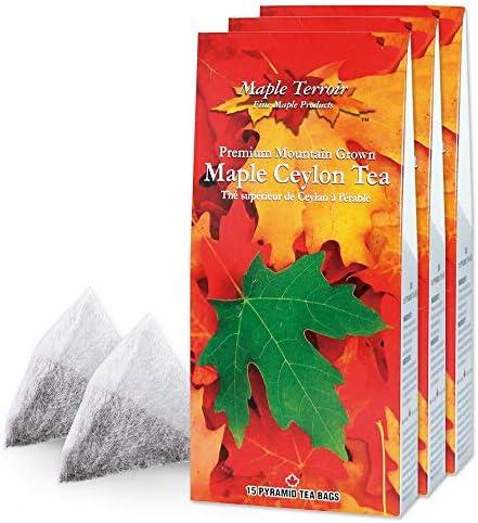 メープル セイロンティー 3箱セット【カナダ おみやげ(お土産) 輸入飲料 紅茶】