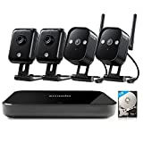 Zmodo-Wireless-Indoor-Outdoor-Smart-Home-Security-Camera-system-4CH-NVR-System-1TB-Hard-Drive
