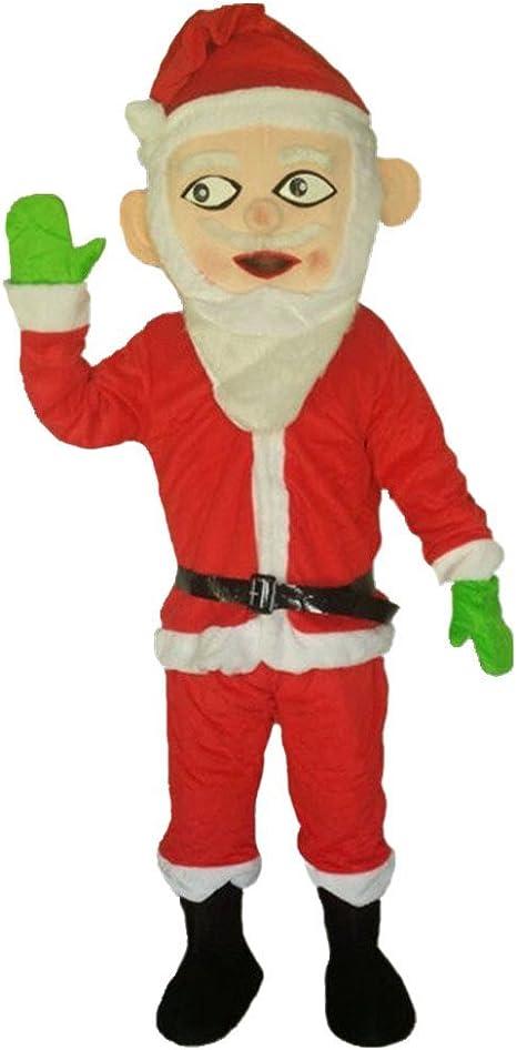 Papá Noel disfraz de mascota dibujos animados halloween party ...