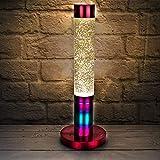 Premium Rainbow Glitter Lava Lamp
