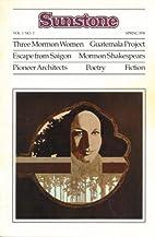 Sunstone - Vol. 1:2, Spring 1976 by Sunstone…