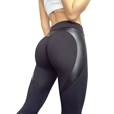 a9534566eca99 Women Sexy Shaping Hip Yoga Pants Women Fitness Tights Workout Gym Running  Bottom Slim Low Waist