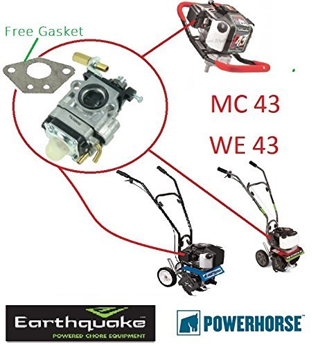 amazon com earthquake powerhorse carb mc43 we43 300486 43cc rh amazon com 82 Chevy Pickup Engine Wiring Diagram Engine Stand Wiring-Diagram