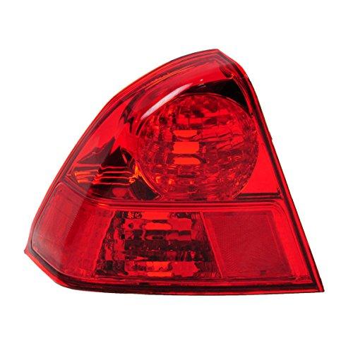 llight Lamp Left LH Driver Side for 03-05 Honda Civic Sedan (Civic Tail Light Lh Driver)