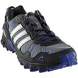 adidas Men's Rockadia Trail M Running Shoe (11 D(M) US, Grey/White/Royal)