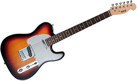 Indio Retro Classic guitarra eléctrica con funda bag-sunburst ...