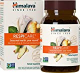 Himalaya RespiCare for Healthy Breathing and Sinus Support, 570 mg, 120 Capsules, 1 Month Supply