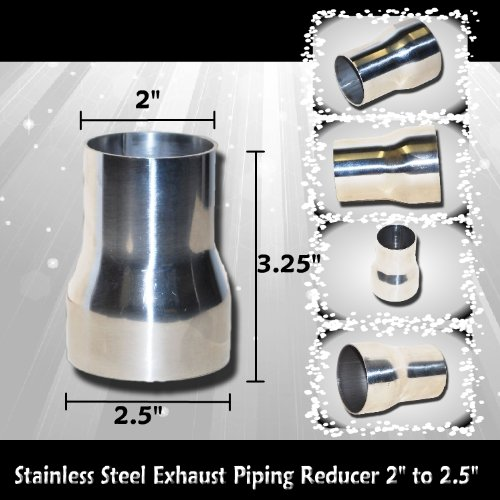 Stainless steel exhaust piping reducer quot to buy
