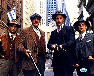"""Sean Connery and Kevin Costner Signed Autographed 8"""" x 10"""" The Untouchables Movie Photo"""