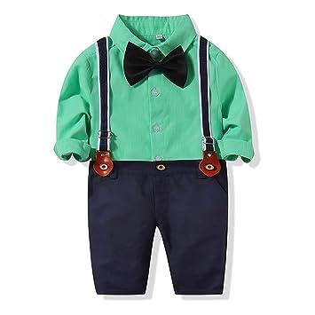 ZHANSANFM - Conjunto de ropa para bebé y niño, 3 unidades ...