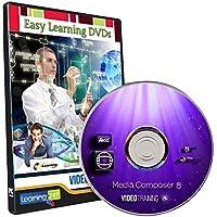 Easy Learning Learn Avid Media Composer 8 Video Training Tutorial (DVD)