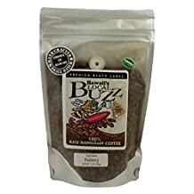 Hawaii's Local Buzz Premium Black Label Peaberry, Light Roast, 7 Ounce by Hawaii's Local Buzz
