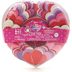 Foamies Valentine's Day Ornament Craft Holiday Party Platter Kit Shapes Include Hearts - 915 Pieces