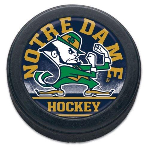(WinCraft NCAA University Notre Dame Fighting Irish Official Size/Weight Hockey Puck)