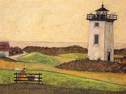 3.20 x 60.00 x 80.00 cm Sam Toft A Little Light Supper Canvas Print Cotton Multi-Colour