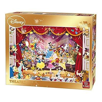 King 5262 Disney Theatre Puzzle Da Pezzi 90 X 60 Cm