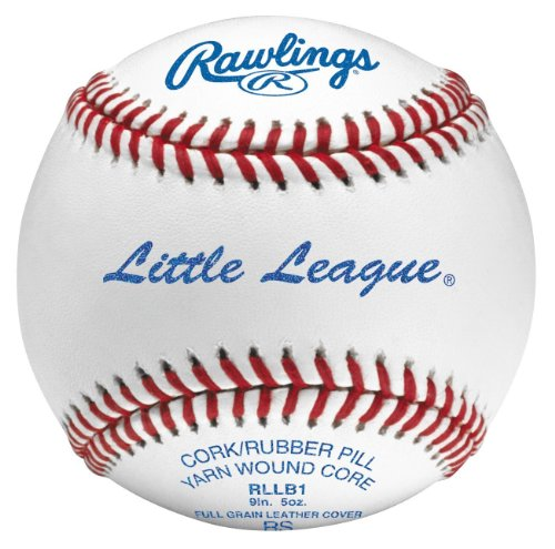 Rawlings Sport Goods RLLB1 Official Little League Baseball - Quantity 12 by Rawlings