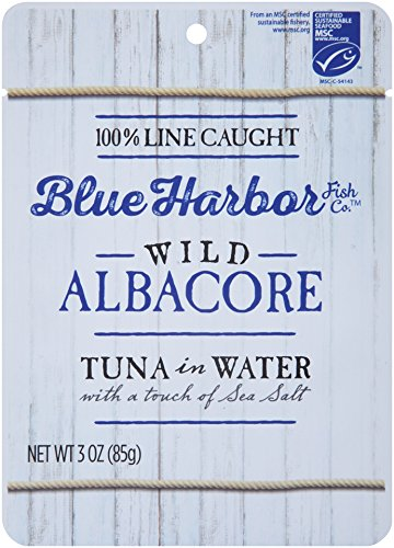 (Blue Harbor Wild Albacore Tuna, In Water with Sea Salt, 3 Ounce (Pack of 12))