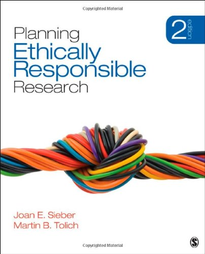 Where to find planning ethically responsible research?