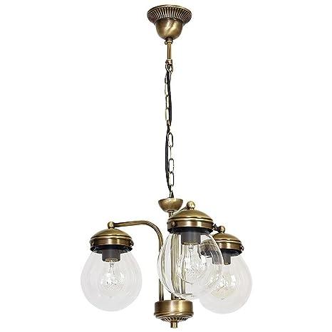 Forma Bonita lámpara colgante (Profundidad hasta: 0,7 m, 3 ...