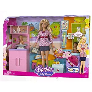 Amazon.com: Barbie I Can Be Baby Doctor: Toys & Games