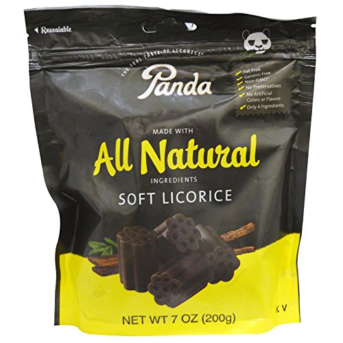 Panda Licorice, Soft Licorice, 7 oz (200 g) - 2 PACK ()