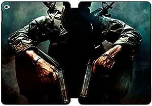 [PU del tirón del cuero] iPad Air 2 funda, iPad Air 2 Case, [Tema: Call of duty] - AK3525