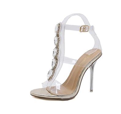 Luxe Sexy Sandales De Synthétiques Talon Femmes Chaussures D'été iTOuPkXZ