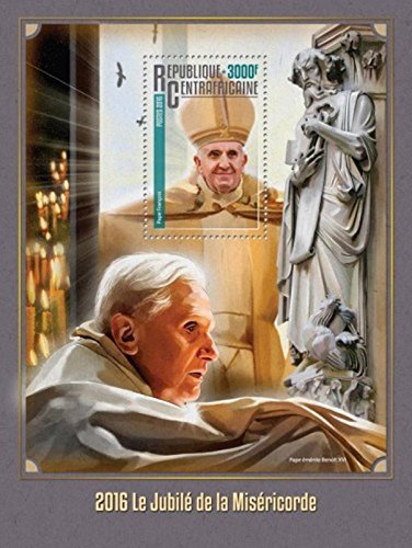 Jubilee 2016 Collectible - Central Africa - 2016 Jubilee of Mercy - Souvenir Sheet - CA16315b