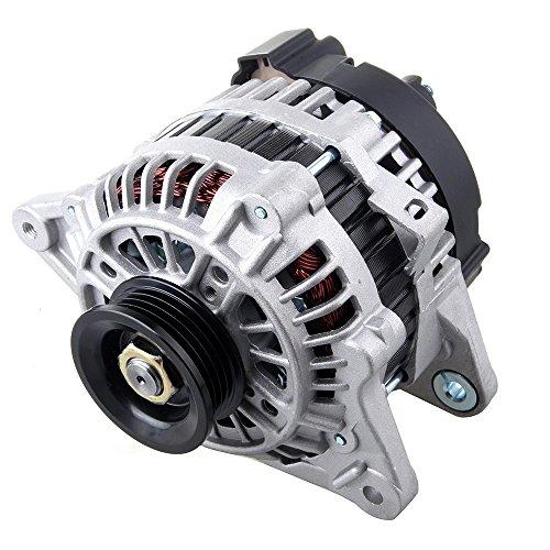 Scitoo Alternators 11011 fit Hyundai Accent 1.6L Elantra Tiburon 2.0L 2003 2004 2005 2006 Kia Rio 1.6L Kia Spectra Sportage 2.0L 2006 2007 2008 S4 90A IR IF ()