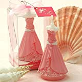 Cartoon Wedding Dress Suit Charming Gifts Party Candles Smokeless Candles Birthday Candles for Baby Shower and Wedding Favor Keepsake Favor (10, Wedding dress)