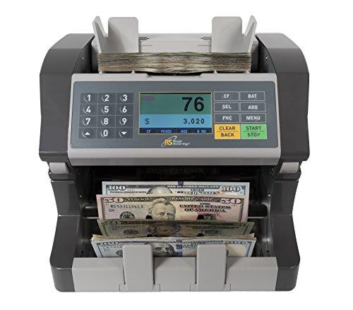 Royal Sovereign Bank Grade, un bolsillo mezclado denominación (USD) discriminador, contador de facturas con detección de...