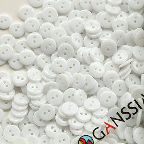 GANSSIA Colors Sewing Buttons Colored product image