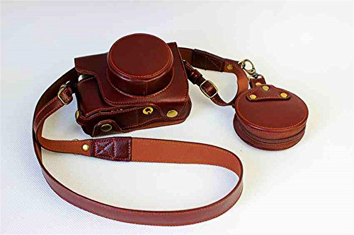 BolinUS Handmade Genuine Leather FullBody Camera Case Bag Co