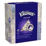 Kleenex Ultra Soft & Strong Facial Tissues; 50 Tissues per Cube Box; 4 Pack