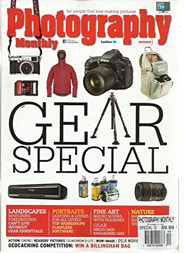 PHOTOGRAPHY MONTHLY, SPECIAL, 2012 (FOR PEOPLE THAT LOVE MAKING PICTURES)