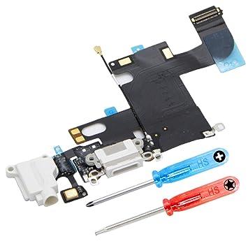 MMOBIEL Repuesto Conector Dock de Carga Compatible con iPhone 6 ...