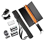 EACHSHOT Magic Tube Light MTL-900 II with 2PCS F550 Battery + Barn Door, 55cm Portable Handheld 298 PCS LED beads