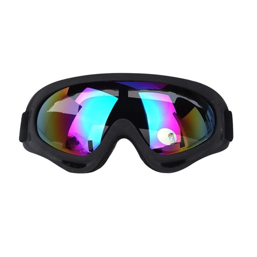 YUANYUAN521 Dust-Proof Safety Anti-UV Welding Glasses for Work Protective Safety Goggles Sport Windproof Tactical Labor Protection Glasses (Color : MC) by YUANYUAN521