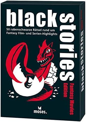 Black Stories Fantasy Movies Edition - Juego de 50 Figuras de fantasía: Vogel, Elke: Amazon.es: Juguetes y juegos