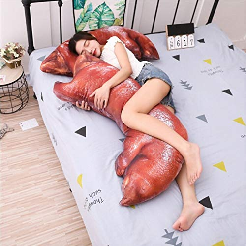 (NszzJixo9 20CM+50CM Pig Simulation trotters Cushion, Funny Cute Pillow Fun Guarantee Toy - Simulated Food Toys, Model Bath Time Toys)