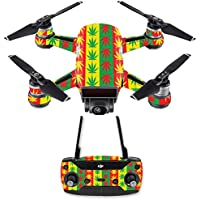 Skin for DJI Spark Mini Drone Combo - Mary Jane| MightySkins Protective, Durable, and Unique Vinyl Decal wrap cover | Easy To Apply, Remove, and Change Styles | Made in the USA