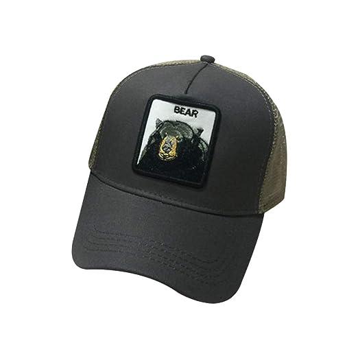 Brucelin - Gorra de béisbol de verano para parejas, gorra de ...