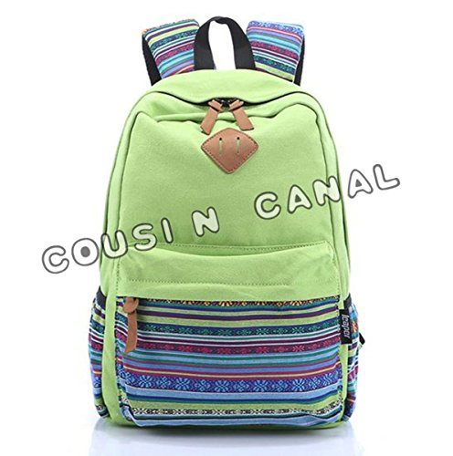 COUSIN CANAL , Zainetto per bambini Fruit Green Large