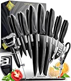 Home Hero 17 Pieces Kitchen Knives Set, 13